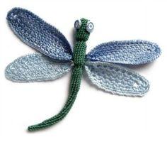 Free #crochet dragonfly patterns! <3 from Mooglyblog.com