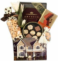 Buy and Save on Cheap Brown Colonial House Gift Basket at Wholesale Prices. Offering a large selection of Brown Colonial House Gift Basket. Cheap Prices on all Bulk Nuts, Bulk Candy & Bulk Chocolate.