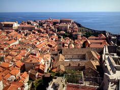 Walking the Walls of Dubrovnik in Croatia