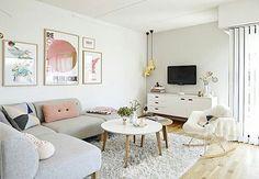 Sala com jeitinho escandinavo de ser passando na sua timeline pra te fazer suspirar! ✨ #decoraçãopravocê