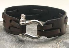 leather-wristbands.com has a wide variety of leather wristbands for men and women. Buy online leather wrist band for your beloved one at leather-wristbands.com