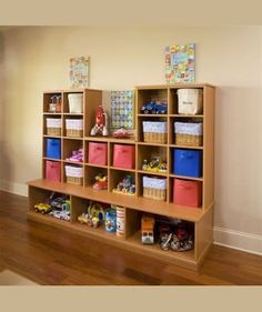 Ideas For Play Room Organization Wall Storage Solutions