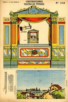 1159 Construcciones. Teatro títeres. Bcn Paluzie Barcelona (1886)