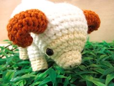 Amigurumi Rae The Ram by Shannen Nicole | Crocheting Pattern