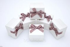 Коробка ювелирная Boxshop #box1-2 Белый Place Cards, Gift Wrapping, Place Card Holders, Stud Earrings, Gifts, Jewelry, Gift Wrapping Paper, Presents, Jewlery