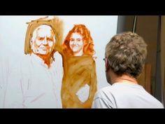 Learn how to paint a portrait. Ben Lustenhouwer - YouTube
