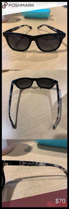 Kate Spade Black tortoise wayfarer sunglasses Black wayfarer sunglasses with black and gray tortoise arms In used but mostly good condition Kate Spa… – Sunglasses Wayfarer Sunglasses, Sunglasses Women, Sunglasses Accessories, Women Accessories, Kate Spade Sunglasses, Tortoise, Black And Grey, Arms, Lenses