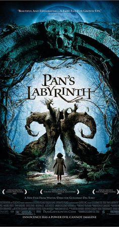 Directed by Guillermo del Toro.  With Ivana Baquero, Ariadna Gil, Sergi López, Maribel Verdú. In the falangist Spain of 1944, the bookish young stepdaughter of a sadistic army officer escapes into an eerie but captivating fantasy world. - One of my favorites!!!