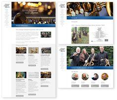 Leipziger Saxophon Quartett – Webdesign