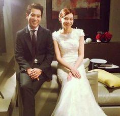 cha ye ryun and joo sang wook Song Hye Kyo, Song Joong, Joo Sang Wook, Korean Celebrity Couples, Korean Celebrities, Ahn Jae Hyun, Wedding News, Star Wedding, Tie The Knots