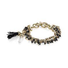 Atlas Toggle Bracelet | Chloe + Isabel ($48) via Polyvore featuring jewelry, bracelets, charm bangles, toggle bracelet, rock jewelry, chloe isabel jewelry and party jewelry