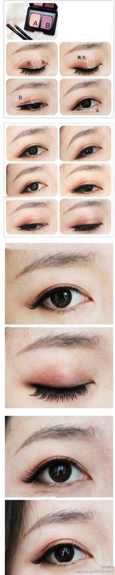 korean/chinese makeup tutorial