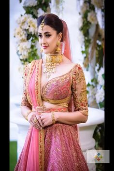 F you're wondering about the latest lehenga blouse designs, you've reached the right spot. A designer lehenga blouse can make your look fresh from fashion Choli Designs, Lehenga Designs, Bridal Blouse Designs, Blouse Neck Designs, Indian Bridal Outfits, Indian Bridal Fashion, Bridal Dresses, Bridal Looks, Bridal Style