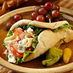 Cucumber Chicken Pita Sandwiches, Sandwich Recipes Online The Lebanese Recipes Kitchen (The home of delicious Lebanese Recipes and . Pita Sandwiches, Soup And Sandwich, Sandwich Recipes, Lunch Recipes, Cooking Recipes, Healthy Recipes, Cooking Tips, Easy Recipes, Finger Sandwiches