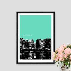Amsterdam Amsterdam Print Amsterdam Art by AskPrintables on Etsy