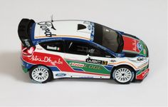 Ford Fiesta WRC #3 Marco Simoncelli UK Test Kirkbride Airfield 2011