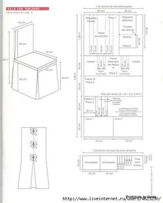 trendy sewing machine cover pattern tutorials how to make Banquet Chair Covers, Dining Chair Covers, Dining Chair Slipcovers, Furniture Covers, Upholstered Chairs, Chair Cushions, Dining Chairs, Diy Sofa Cover, Sofa Covers