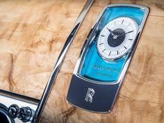 Détail de l'intérieur d'une Rolls-Royce