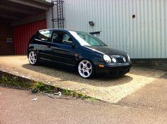 Polo 9N on Alfa wheels. Alfa romeo wheels (147, 156, GT, GTV, Spyder) fit, all 5x98 PCD