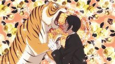 """Black Butler: Book of Circus ~~ Sebastian gets another """"kitty"""" to play with."""