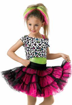 Dance Wear for Kids Cheetah print top Sparkling lime dazzler sequin leotard Reversible black and cerise skirt OEM/DOM servic Hip Hop Costumes, Girls Dance Costumes, Cool Costumes, Halloween Costumes For Kids, Dance Outfits, Dance Dresses, Costumes 2015, Costumes Kids, Ugly Dance