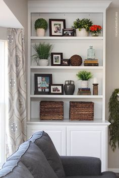 bookshelf styling | dayme walther | Love This Look | Pinterest ...