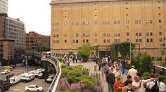 The High Line in New York a railway regeneration project. #urban #park #NYC