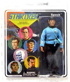 Diamond Select Star Trek Original Series 2 Cloth Retro Action Figure Spock by DC Comics