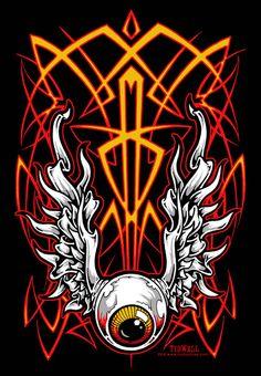 Pinstriping by Jeral Tidwell Motorcycle Paint Jobs, Motorcycle Art, Airbrush Art, Pinstripe Art, Pinstriping Designs, Retro Poster, Garage Art, Custom Paint Jobs, Arte Horror
