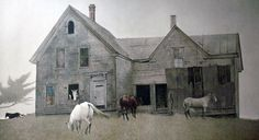 """Andrew Newell Wyeth: """"Open House"""""""