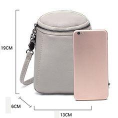 Hot-sale designer Woman Round Little Phone Bag Casual PU Crossbody Bag Bucket Bag Vintage Bag Online - NewChic Mobile