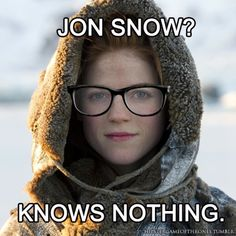 Hipster Game Of Thrones