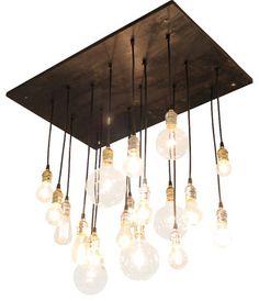 Medium Urban Chandelier eclectic chandeliers