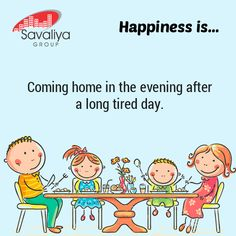 Happiness is where the home is...