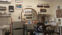 ... about barbershop on Pinterest Barber chair, Barber shop and Barbers