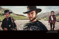 THE ART OF JUSTIN REED - gunslingers poster / print - Europosters