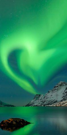Polar lights Love, Norway