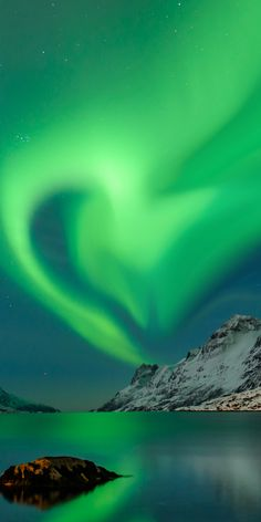 Polar lights Love, Norway