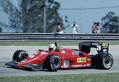 1985 GP Brazylii (Rene Arnoux) Ferrari 156/85