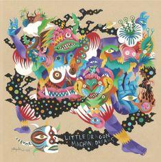 "Little Dragon ""Machine Dreams"" album cover art by Hideyuki Katsumata - http://hideyukikatsumata.wix.com/eople#!art-gallery/vstc4=works"