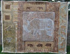 Rhino Poaching, Animal Paintings, Saatchi Art, Original Paintings, Abstract Art, Canvas Art, Textiles, Ink, Art Prints