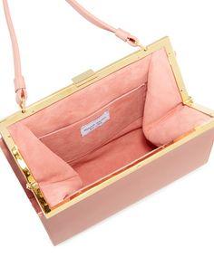 Mansur Gavriel Elegant Leather Top-Handle Bag