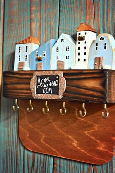 Новости Wooden Decor, Wooden Crafts, Handmade Crafts, Diy And Crafts, Pottery Houses, Toy House, Driftwood Crafts, Miniature Houses, House In The Woods