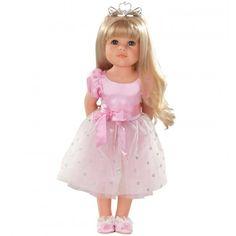 GOTZ Hannah Princess Doll 50 #toys2learn#gotz#dolls#50cm#blonde#hair#long#princess#pink#australia#