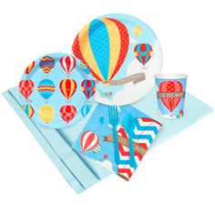 Up, Up and Away Just Because Party Pack for 8, 96133