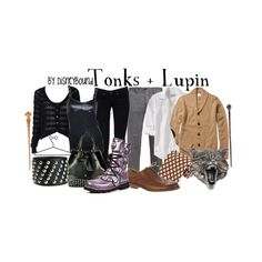Tonks + Lupin, created by lalakay.polyvore.com