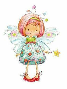 Girl butterfly 3