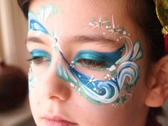 Mermaid Face Painting