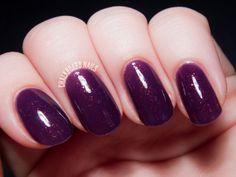 """Contrary Polish Darling Wildflower from May's """"A Box, Indied"""" #nails #polish #nailvarnish #purple"""