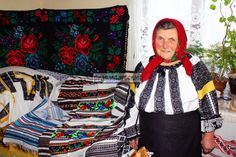 You must have seen it so often it doesn& strike you as a peasant art craft. Loom weaving the Romanian blouse.involves the same age-old methods Loom Weaving, Ancient Art, Artisan, Arts And Crafts, Bell Sleeve Top, Textiles, Traditional, Blouse, Pattern